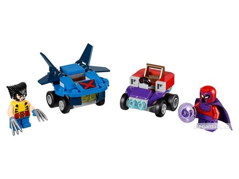 Các mô hình ấn tượng trong bộ Lego Super Heroes 76073 - Người sói đại chiến Magneto