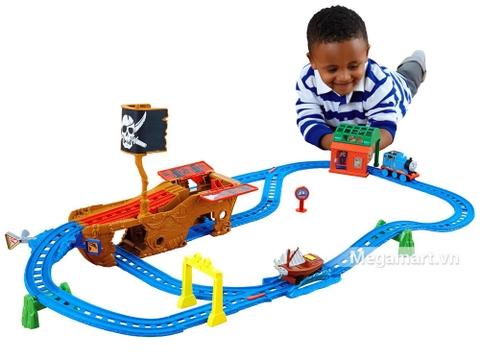 Hình ảnh vỏ hộp bộ Thomas and Friends Chuyến tàu phiêu lưu mạo hiểm