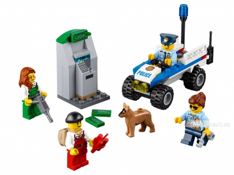Các mô hình ấn tượng trong bộ Lego City 60136 - Bộ cảnh sát khởi đầu