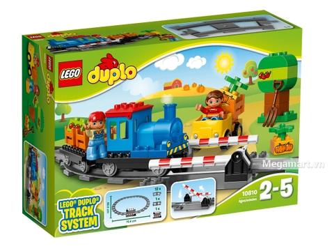 Lego Duplo 10810 - Đầu kéo xe lửa chính hãng