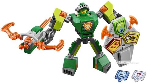 Lego Nexo Knights 70364 - Chiến Giáp Aaron với sức mạnh tuyệt vời
