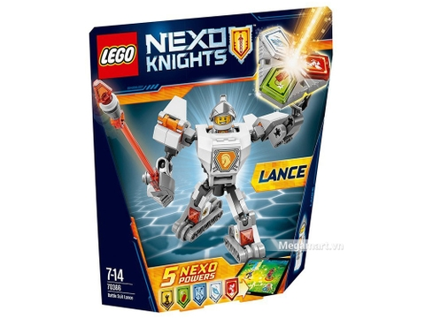 Lego Nexo Knights 70366 - Chiến Giáp Lance tham gia các trận chiến với độ khó cao hơn