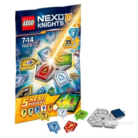 Lego Nexo Knights 70372 - Bộ Khiên Nexo bí ẩn