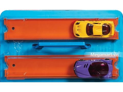 Hot Wheels Hộp đua tốc độ - các chi tiết trong bộ đồ chơi