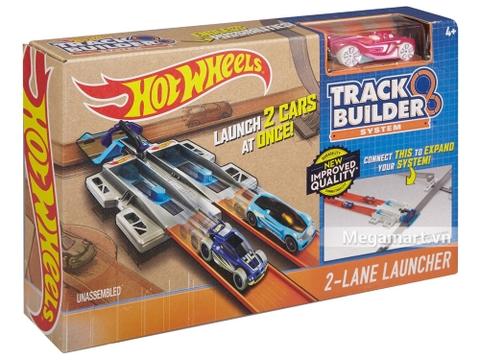 Hộp đựng bộ Hot Wheels Phụ kiện đường đua - 2 đường chạy tốc độ