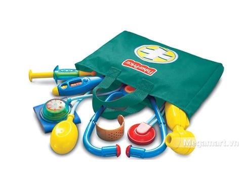 Chi tiết bộ sản phẩm Fisher Price Bộ đồ chơi bác sĩ