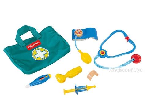 Fisher Price Bộ đồ chơi bác sĩ kích thích khả năng sáng tạo của bé