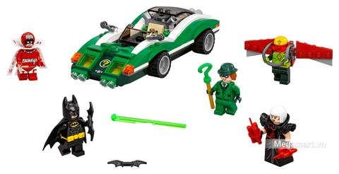 Các mô hình ấn tượng trong bộ Lego Batman Movie 70903 - Thách thức của Riddler