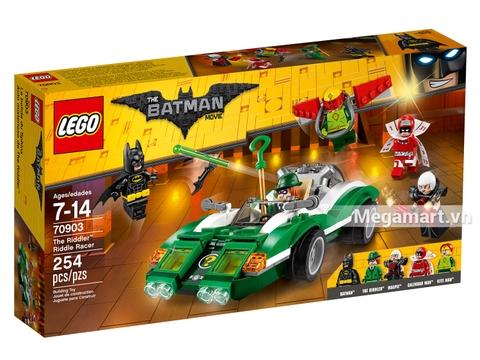 Hình ảnh vỏ hộp bộ Lego Batman Movie 70903 - Thách thức của Riddler