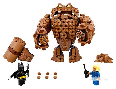 Các mô hình ấn tượng trong bộ Lego Batman Movie 70904 - Quái nhân đất sét Clayface tấn công