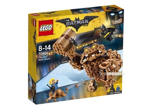 Hình ảnh vỏ hộp bộ Lego Batman Movie 70904 - Quái nhân đất sét Clayface tấn công