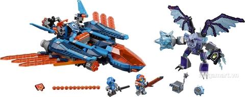 Các mô hình ấn tượng trong bộ Lego Nexo Kinights 70351 - Cỗ máy đại bàng của Clay