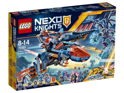 Hình ảnh vỏ hộp bộ Lego Nexo Kinights 70351 - Cỗ máy đại bàng của Clay