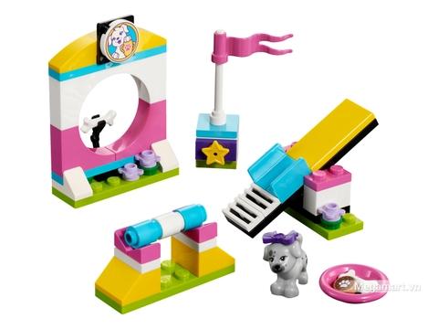 Các mô hình có trong Lego Friends 41303 - Sân chơi cún cưng