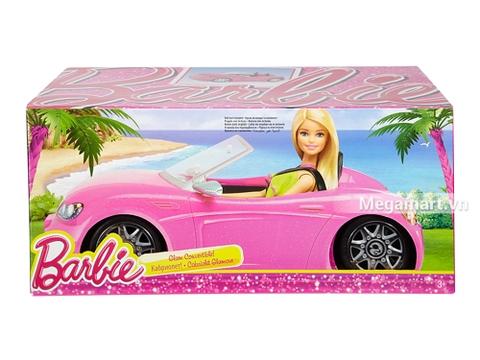 Barbie Xe hơi mui trần - được đựng trong hộp thích hợp làm quà cho bé gái