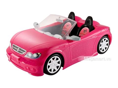 Barbie Xe hơi mui trần - Chiếc xe hơi mui trần được thiết kế tinh xảo như một chiếc xe thật