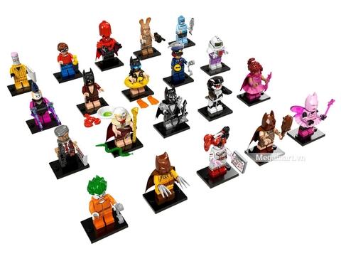 Bộ sưu tập 20 nhân vật của Lego Minifigures 71017 - Nhân Vật Lego Batman