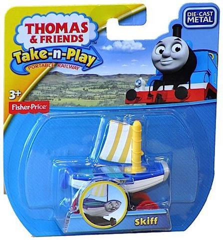 Vỏ ngoài sản phẩm đồ chơi Thomas & Friends Bộ sưu tập tàu lửa Thomas - Skiff