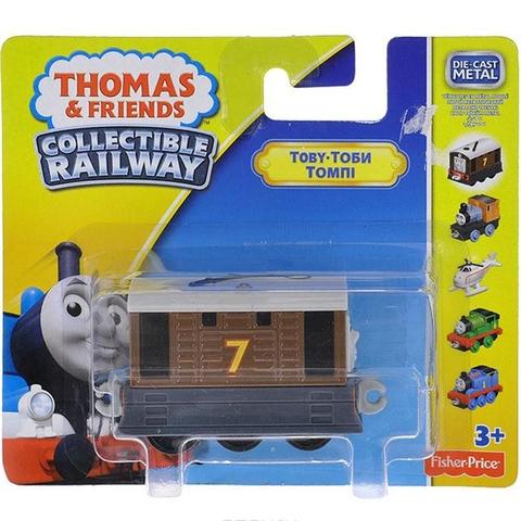 Vỏ hộp sản phẩm Thomas & Friends Bộ sưu tập tàu lửa Thomas - Toby