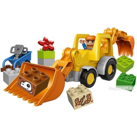 Các mô hình ấn tượng trong bộ Lego Duplo 10811 - Xe cần cẩu