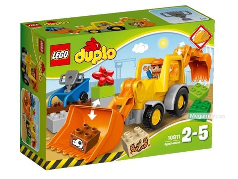 Hình ảnh vỏ hộp bộ Lego Duplo 10811 - Xe cần cẩu