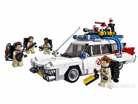Lego Ideas 21108 - Xe Ecto của biệt đội săn ma - các chi tiết trong bộ đồ chơi