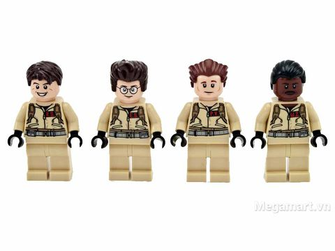 Lego Ideas 21108 - Xe Ecto của biệt đội săn ma - bộ tứ của Biệt đội săn ma