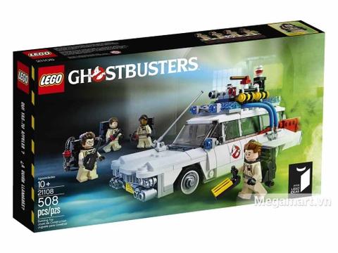 Lego Ideas 21108 - Xe Ecto của biệt đội săn ma - ảnh bìa sản phẩm