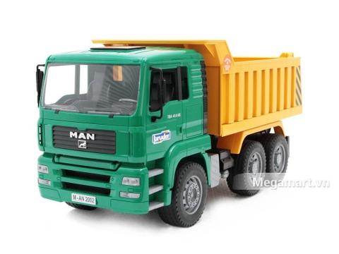 Bộ đồ chơi Bruder Xe ben Man dành cho bé từ 3 tuổi trở lên