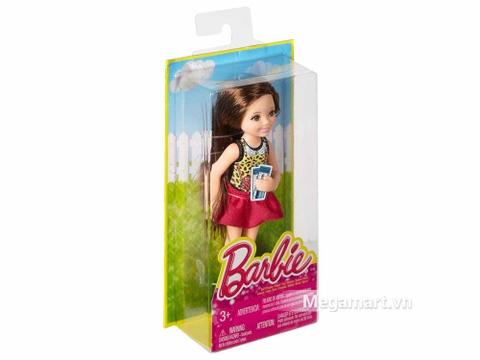 Vỏ hộp đựng bên ngoài Barbie Chelsea Buổi tối xem phim vui vẻ