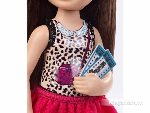 Cô bạn mới Barbie Chelsea Buổi tối xem phim vui vẻ dễ thương cho bé