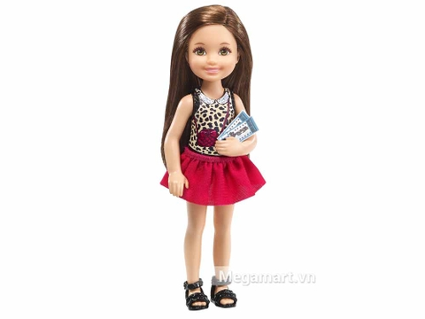 Barbie Chelsea Buổi tối xem phim vui vẻ - dành cho các bé gái
