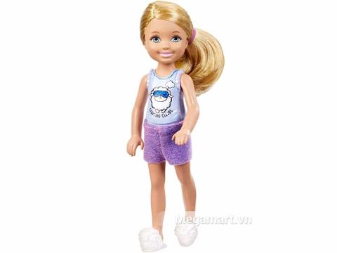 Barbie Chelsea Ngủ ở nhà bạn với ngoại hình hết sức đáng yêu