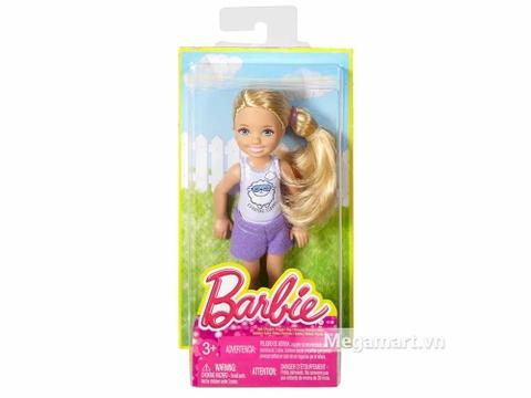 Barbie Chelsea Ngủ ở nhà bạn - Vỏ hộp sản phẩm