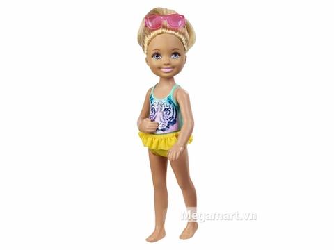 Barbie Chelsea Tập bơi với phong cách trẻ trung, hiện đại