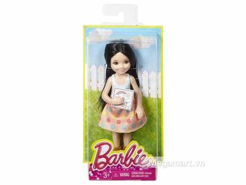 Hộp đựng xinh xắn của Barbie Chelsea tập vẽ