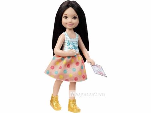Búp bê Barbie Chelsea tập vẽ với ngoại hình xinh xắn
