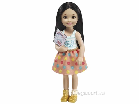 Barbie Chelsea tập vẽ - Người bạn mới của bé