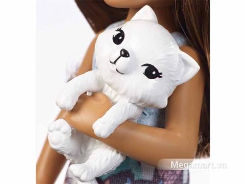 Búp bê Barbie Chelsea và mèo con được thiết kế rất thông minh cho bé tha hồ sáng tạo