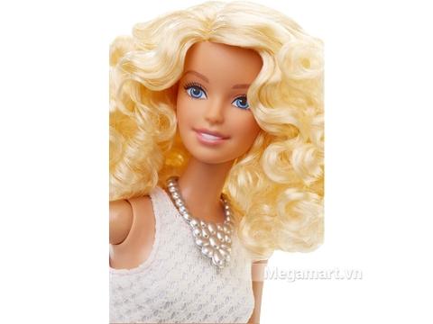 Barbie Fashionistas - Váy hồng phấn - gương mặt xinh đẹp