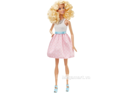 Barbie Fashionistas - Váy hồng phấn - cô bạn thời trang