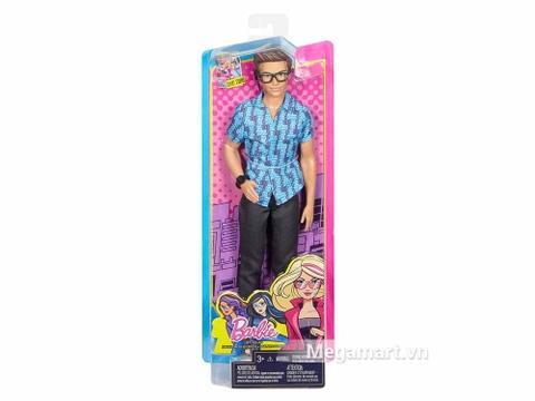 Barbie Ken - Điệp viên bí mật - Vỏ hộp sản phẩm