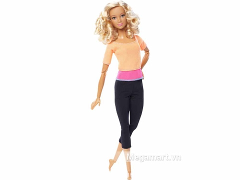 Barbie Made To Move - Áo cam - Vỏ hộp của sản phẩm