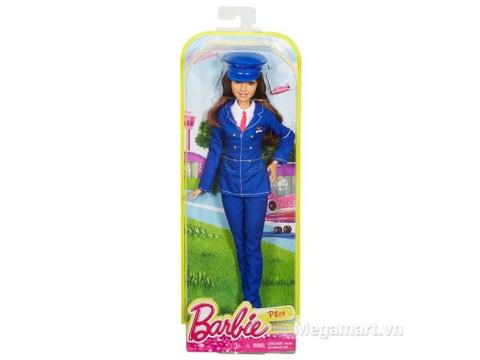 Vỏ hộp đựng bên ngoài Barbie nghề nghiệp - Phi công
