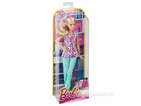 Hình ảnh bên ngoài bộ Barbie nghề nghiệp - Y tá
