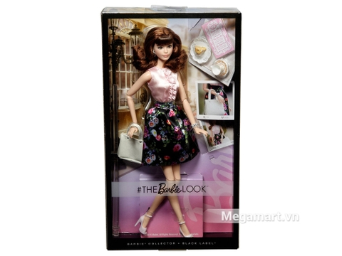 Barbie the Look - Váy hoa với vỏ hộp và đóng gói chắc chắn