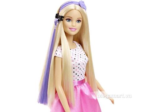 Barbie Thời trang tóc và phụ kiện cho bé được trở thành chuyên viên làm tóc chuyên nghiệp