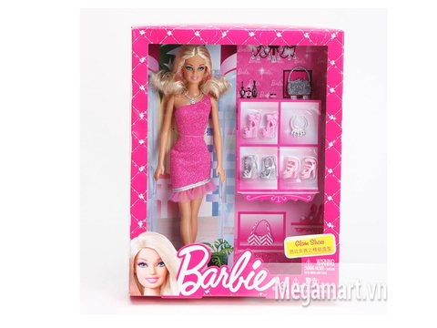 Hình ảnh vỏ bọc bên ngoài đồ chơi Barbie Thời trang giày