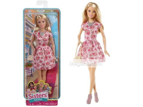 Chi tiết Búp bê Barbie Chị em Barbie – Sisters Doll