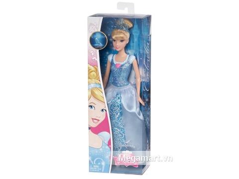 Thiết kế vỏ hộp bên ngoài bộ Barbie công chúa Disney – Cinderella